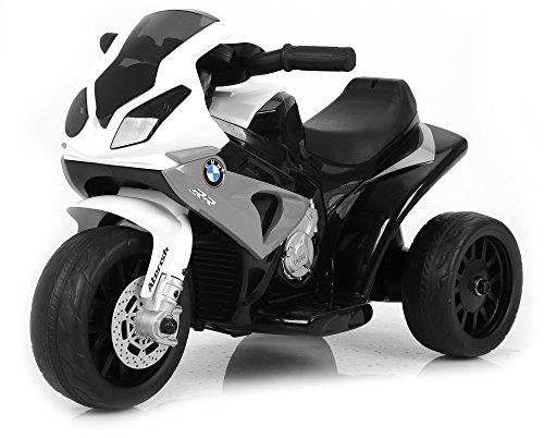 giordano shop Moto Motocicletta Elettrica per Bambini 6V BMW Grigia