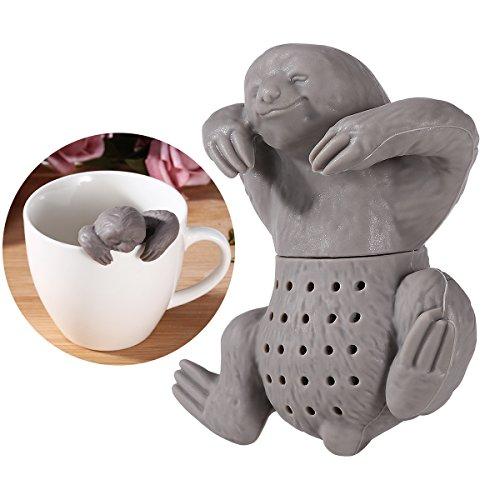OUNONA Silikon Teekugeln Lustiges Teesieb Teezubehör
