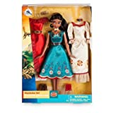 Elena of Avalor Klassisches, bewegliches Puppen- und Garderobeset mit Kleidern, Schuhen und Kopfbedeckungen