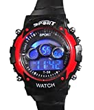Fantasia Box Digital Red Sports Watch fo...