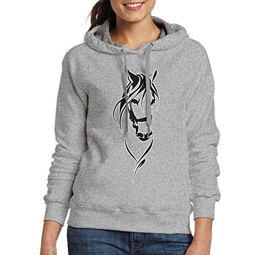 Dress rei Horse Lovers Womens Casual Long Sleeve Hoodie Sweatshirt Hoodie Pullover Cable Knit Hoodie Pullover