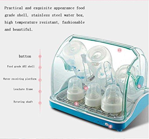 GONG Babyflasche Sterilisator Mit Trocknen Tragbare Babyflasche Schatz Edelstahl Drain Reinigung Kabinett Desinfektion - 3