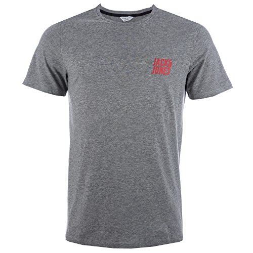Jack & Jones Herren T-Shirt Grau