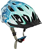 Abus Damen Mountx Fahrradhelm, Blue Animal, M (53-58 cm)