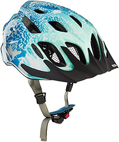 ABUS MountX Cycle Helmet Ladies, Womens, MountX, blue animal, S (48-54 cm)