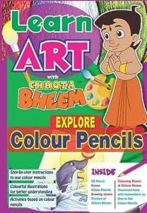 Chhota Bheem Chhota Bheem Explore Colour Pencil, Multi Color