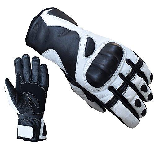 ATTONO Skihandschuhe Leder Ski Racing Snowboard Handschuhe - Größe 8/M -