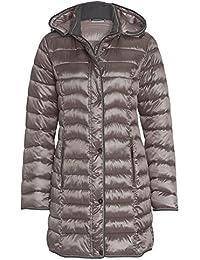b64453ac8253 Michèle Boyard Ultrasofter Leichtsteppmantel - Damen Stepp-Mantel Jacke  Frauen Herbst Winter Übergang