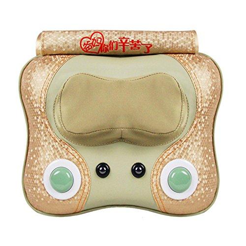 Multifunktions-Massagekissen Cervical Wirbel Taillenmassager Beheizte elektrische Körpermassagekissen , B