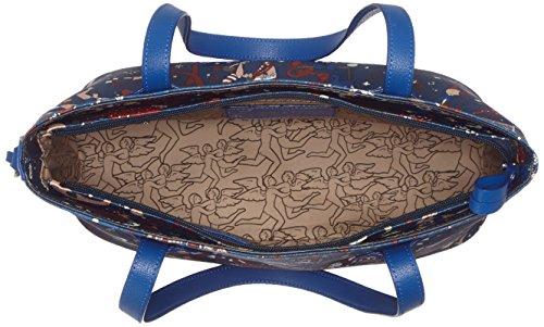 Piero Guidi Damen 2145w4088 Tote, 31x24x12 cm Blu Di Prussia