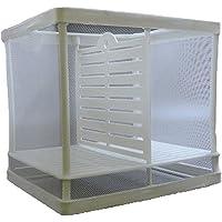NicePets - Paridera doble de tela para peces alevines y criadero para acuario especialmente diseñado para aislar crias guppys