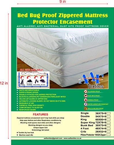 aaf-bed-bug-saver-mattress-cover-zippered-anti-allergie-gegen-staubmilben-tierhaare-double-137x190x2