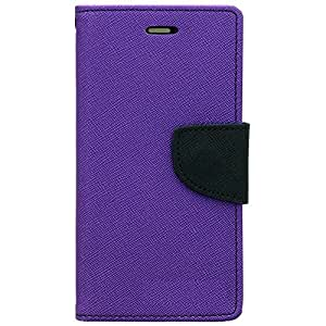 htc 826 Flip Cover By Relax&Shop (Orchid Purple)