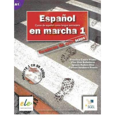 Espanol En Marcha: Cuaderno De Ejercicios + CD(1) 1 (Espanol en Marcha) (Mixed media product)(Spanish) - Common