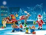 Image of PLAYMOBIL 5494 - Adventskalender, Weihnachtsmann beim Geschenke packen