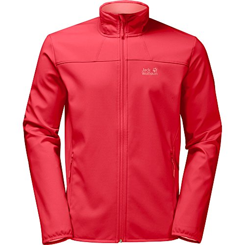 Jack Wolfskin Damen Northern Pass Softshelljacke, Tulip Red, XL Preisvergleich