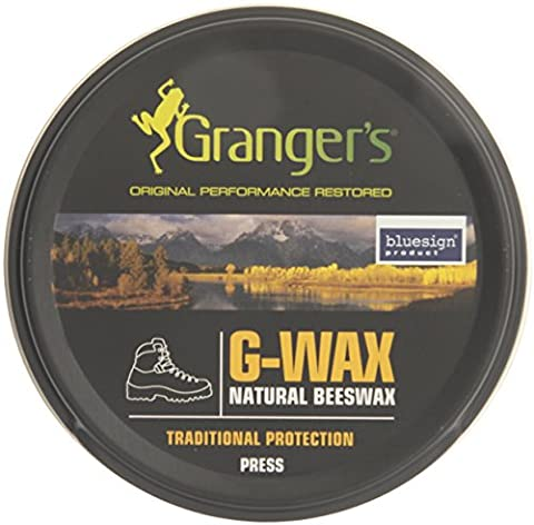 Grangers G-Wax Traditional Beeswax Protection Proofer - Black,