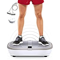 Sportstech professional vibration plate VP300 with 3D Spiral Vibration Technology +Bluetooth A2DP music,huge tread, 2 powerful engines +unrivaled design +training tapes +remote control