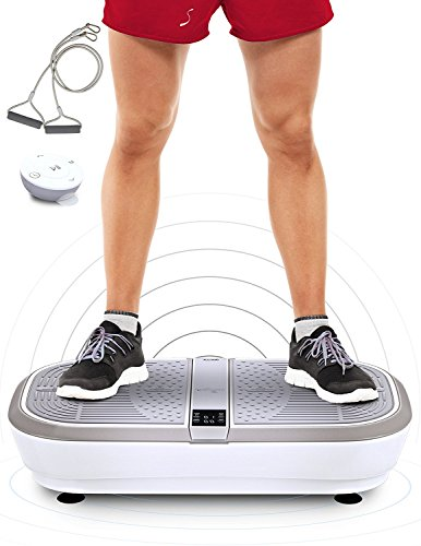 Sportstech professional vibration plate VP300 with 3D Spiral Vibration Technology +Bluetooth A2DP...