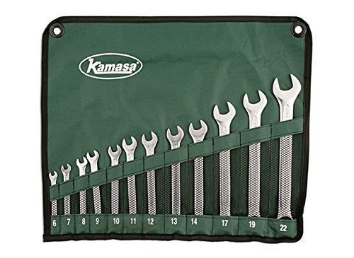 Kamasa 56053 Jeu de clés mixtes 12 pièces
