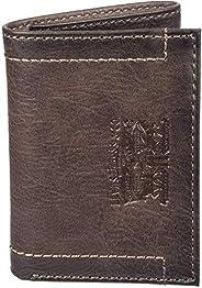 Levis Mens Wallet, Card Case & Money Organizer, Brown, 14 31LV11