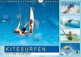 Edition Funsport: Kitesurfen (Wandkalender 2019 DIN A4 quer): Kitesurfing: Das Brett unter den Füßen, das Meer, ein Sprung (Monatskalender, 14 Seiten ) (CALVENDO Sport)