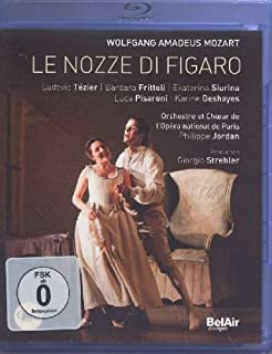 Mozart: Le nozze di Figaro [Blu-ray] [Import italien] (B008HRK6YI) | Amazon Products