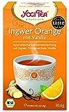 10 x Yogi Tee BIO Ingwer Orange mit Vanille (=10er Pack)