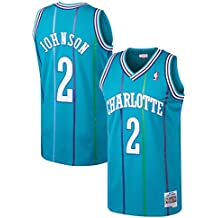 Mitchell & Ness NBA Charlotte Hornets Larry Johnson 1992-93 Retro Jersey Swingman Oficial Away