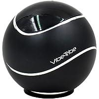 Vibe-Tribe Orbit - Black: 15 Watt Bluetooth Vibration Speaker, vivavoce, suction base integrata