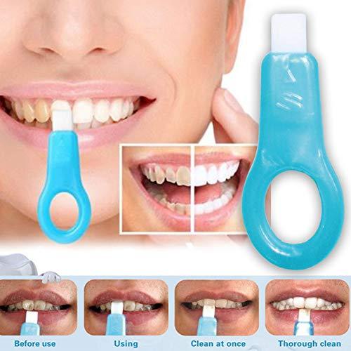 Pro Nano Zähne Whitening Kit, Weiche Zähne Reinigung Whitener Bürste Zahn für Braunzahn Rauch, Kaffee, Tee, Fruchtsaft, Kaubereich Pigmente - 1 handles + 2 strips -