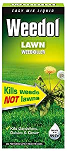 Weedol Lawn Weedkiller Liquid Concentrate Bottle, 1 L
