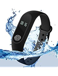 VITREND M2 Fitness Band Smart Bracelet Fitband Fitness Band With Heart Rate Monitor OLED Display Bluetooth 4.0...