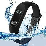 IKJ Intelligence Bluetooth Health Wrist Smart Band Watch Monitor Smart Bracelet
