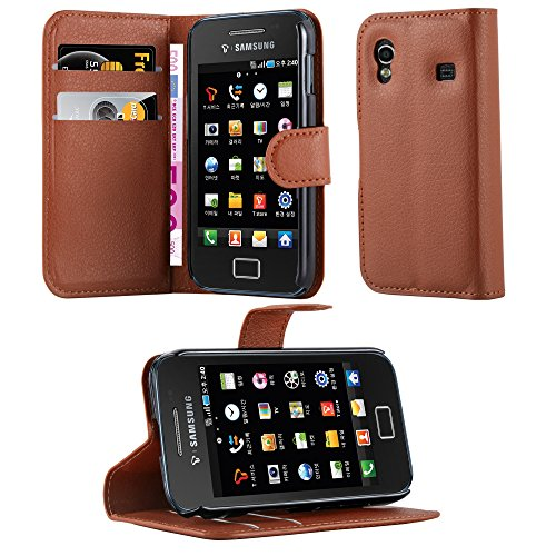 Cadorabo Hülle für Samsung Galaxy ACE 1 in Schoko Braun