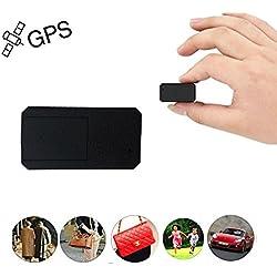 GPS Coches Localizador Mini GPS Tracker GPS Niños Vehículo Localizador GPS para Coche Tiempo Real Localizador GPS Coche Rastreador GPS Mascotas Seguimiento de GPS/gsm/GPRS/SMS Antitheft TK901