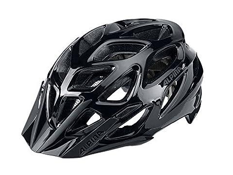 ALPINA A9712532 Fahrradhelm Mythos 3.0 MTB, Gr.59-64cm, schwarz/anthrazit (1 Stück)