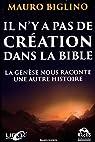 Il n'y a pas de création dans la Bible par Biglino