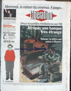LIBERATION [No 5198] du 04/02/1998 - DEU...