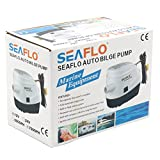 Seaflo Automatic Submersible Boat Bilge Water Pump 12v 750gph Auto with Float Sw