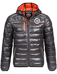 Geographical Norway - Doudoune Geographical Norway Bappa Gris