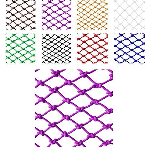 WNSW Nylon Schutznetz Kind Haustier Sicherheitsnetz Fallschutznetz Isolationsnetz, Handgewebte Traditionelle Struktur (Farbe: Gelb) (Spezifikation: 6 Mm Seil, 5 cm Loch) (Size : 3 * 9m) (Hotels In Der Nähe 9)