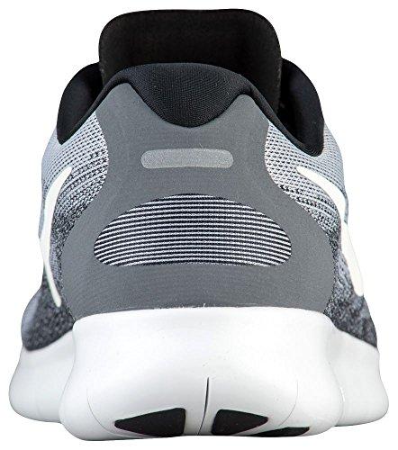 Nike Herren Free Run 2017 Laufschuhe Grau