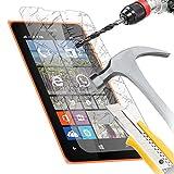 Accessory Master  5055907857504 - Pellicola Proteggi Schermo in Vetro temprato per Nokia Lumia 435/ Microsoft 435, Trasparente