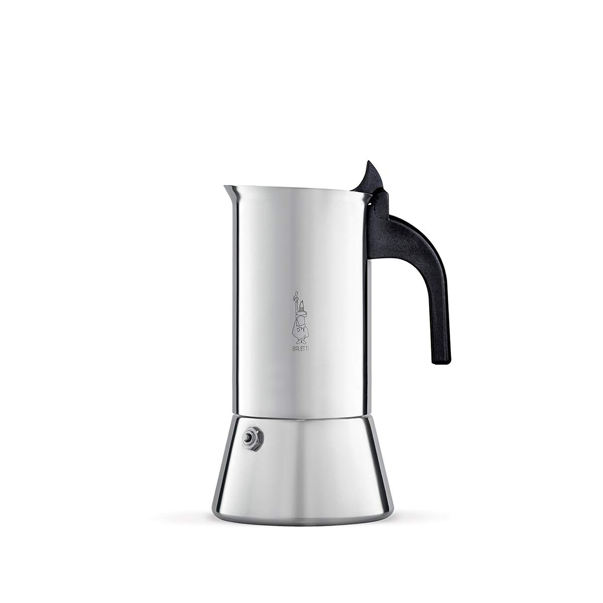 Bialetti Venus Espressokocher für induktion, Stahl, Silber, 6 Tassen