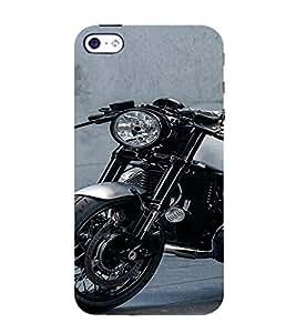 PrintVisa Exotic Bike Design 3D Hard Polycarbonate Designer Back Case Cover for Apple iPhone 4 :: 4S
