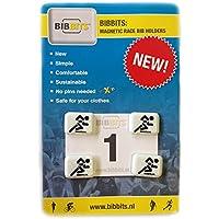 BibBits - Magnetische Startnummernhalter Weiss