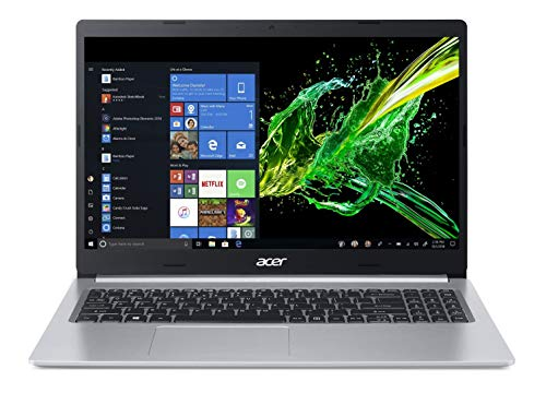 Acer Aspire 5S A515-54 15.6-inch Laptop (10th Gen Intel Core i5-10210U processor/8GB/512GB SSD/Windows 10 Home 64-bit/Intel UHD 620 Graphics), Pure Silver