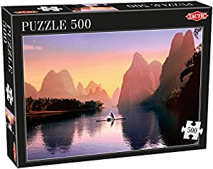 Tactic China Puzzel 500 pcs Puzzle - Rompecabezas (Puzzle Rompecabezas, Paisaje, Niños y Adultos, Niño/niña, 9 año(s), 470 mm)