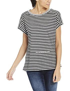 Bench Stripe Print tee, Camiseta para Mujer